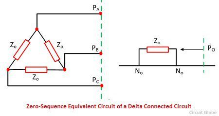 equivalent-circuit-of-delta-connected-winding