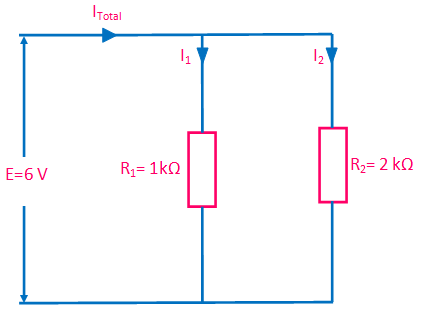 resistor in parallel example