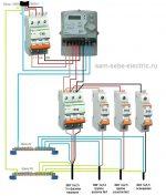 Сборка 3 фазного электрощита для частного дома – 5 вариантов сборки трехфазного щита